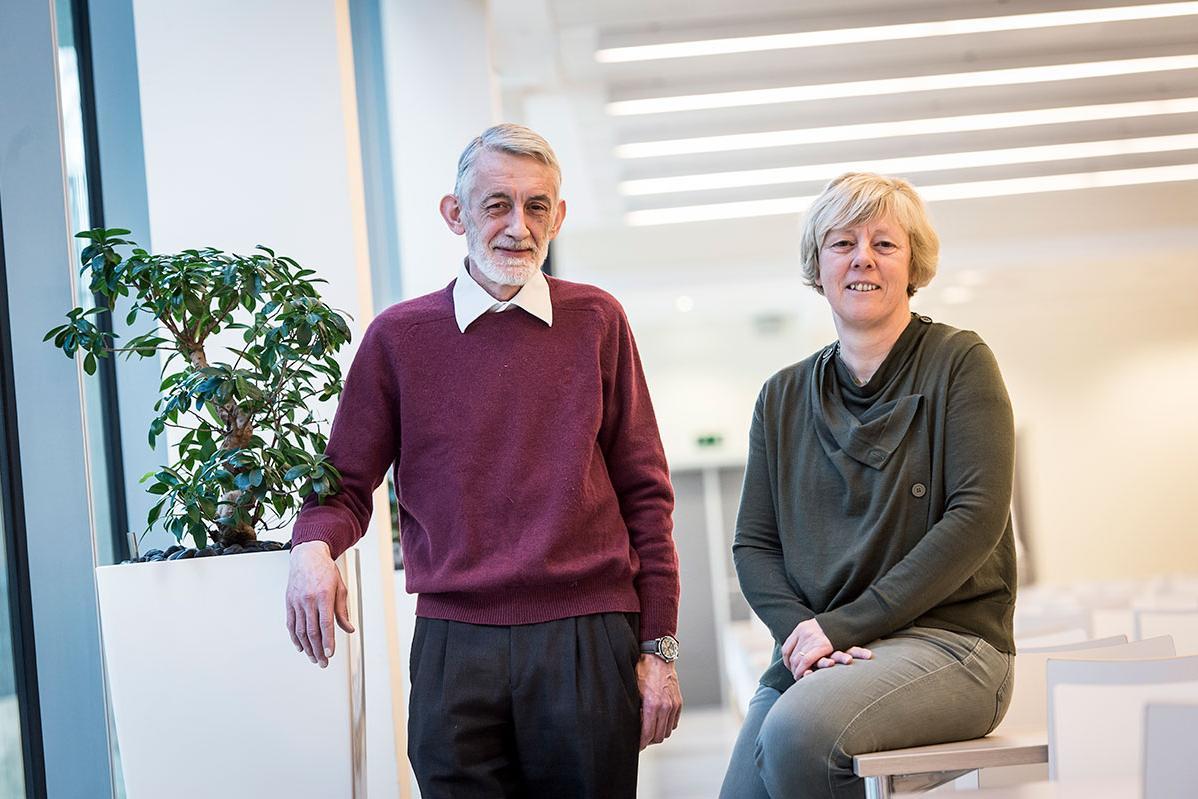 Ann Mennes en Koenraad Janssens