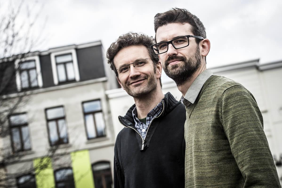 Etienne Rubens en Frank Van Den Branden